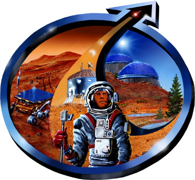 Mars Society International Logo